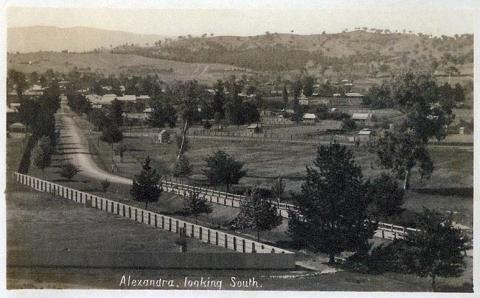 Alexandra looking south, 1912
