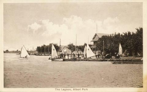 The Lagoon, Albert Park