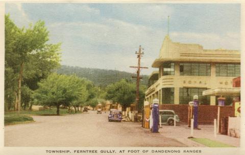 Township, Ferntree Gully, at foot of Dandenong Ranges