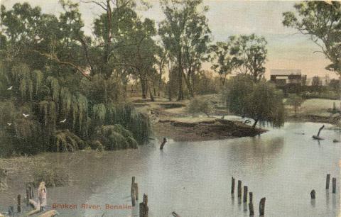 Broken River, Benalla, 1906