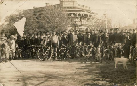 Benalla Road Race 18 May 1909