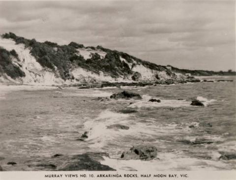 Arkaringa Rocks, Half Moon Bay, Black Rock
