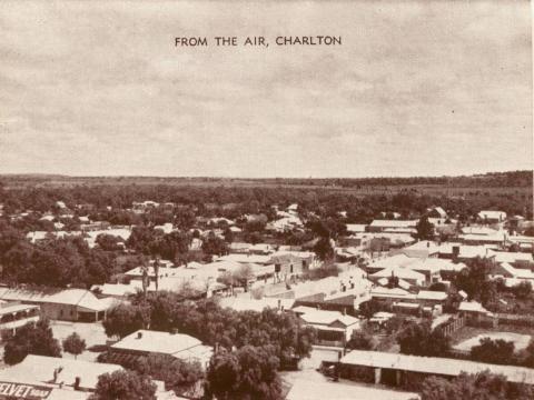 From the air, Charlton