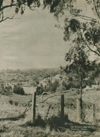 The water's edge, Daylesford, 1954