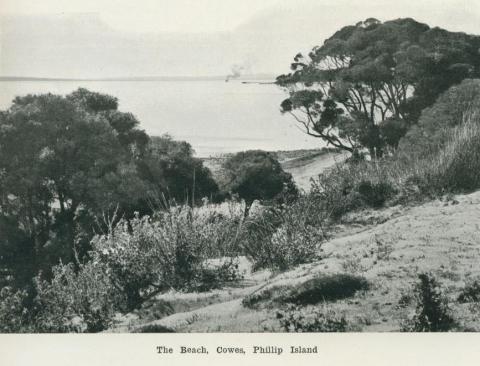 The Beach, Cowes, Phillip Island, 1918