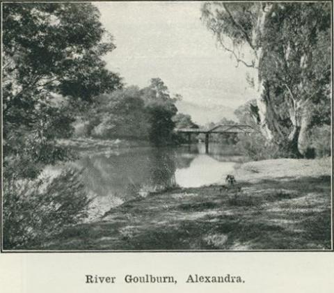 River Goulburn, Alexandra, 1918
