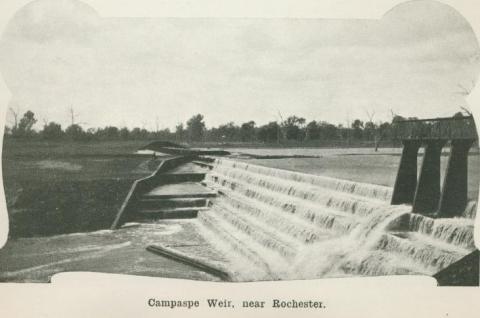 Campaspe Weir, near Rochester, 1918