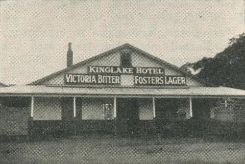 Kinglake Hotel, 1950