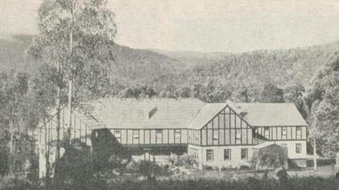 Mary-Lyn Accommodation, Marysville, 1950