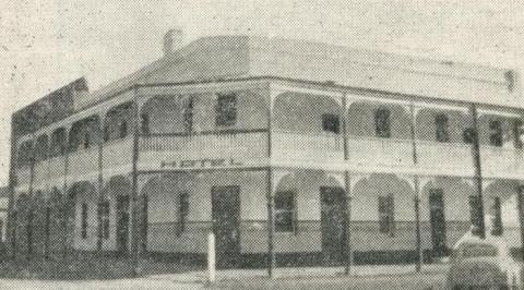Criterion Hotel, Yarrawonga, 1950