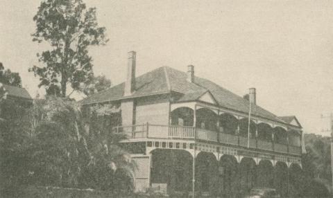 Trezise's Grand Hotel, Warrandyte, 1947-48