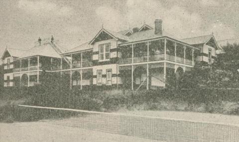 Bella Vista Guest House, Olinda, 1947-48