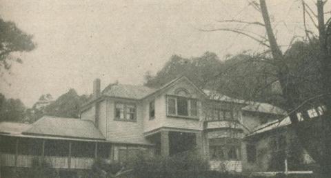 Calulu Guest House, Mount Macedon, 1947-48