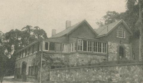 Fearne Lodge, Mount Macedon, 1947-48