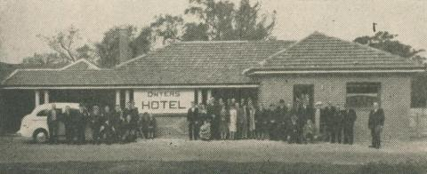 Dywer's Hotel, Spargo Creek, 1947-48