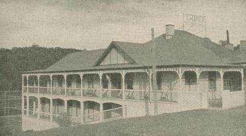 The Grande - Accommodation, Hepburn Springs, 1947-48