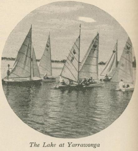 The Lake at Yarrawonga, 1947-48