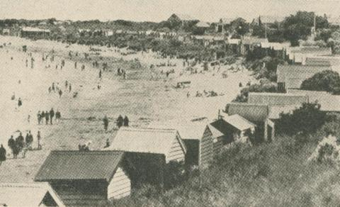 Torquay Bathing Beach, 1947-48