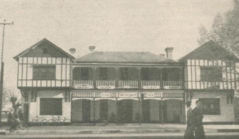 Border Inn, Bacchus Marsh, 1947-48