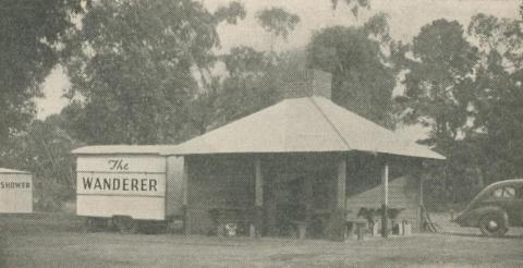 Accommodation at Camping Area, Stawell, 1947-48