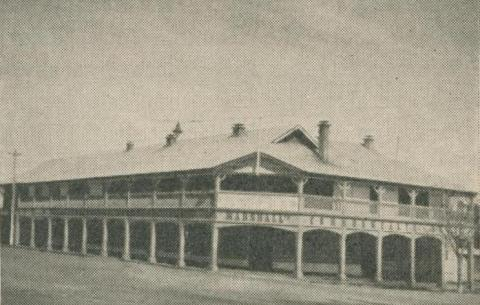 Commonwealth Hotel, Orbost, 1947-48