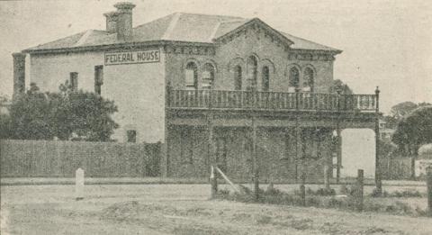 Federal House, Mornington, 1918-20