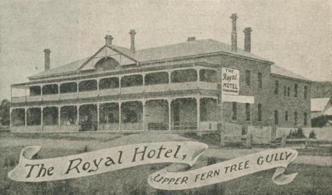 The Royal Hotel, Upper Fern Tree Gully, 1918-20