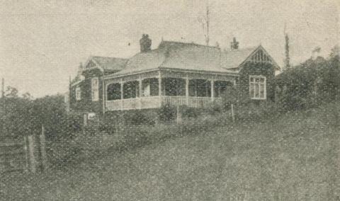 Wattle Vale Boarding House, Gembrook, 1918-20