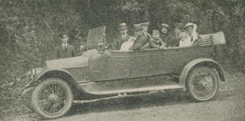 Healesville Motor Co, 1918-20