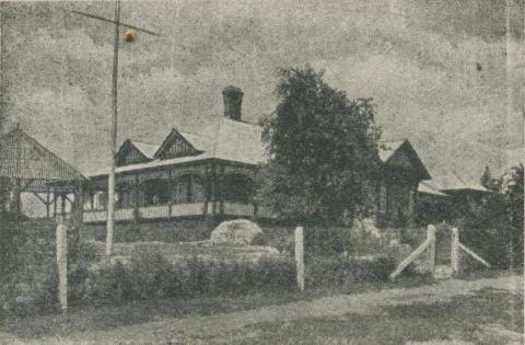 Bellinzona Boarding House, Hepburn Springs, 1918-20