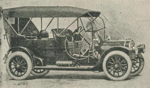 Western District Motor Garage, Geelong, 1918-20