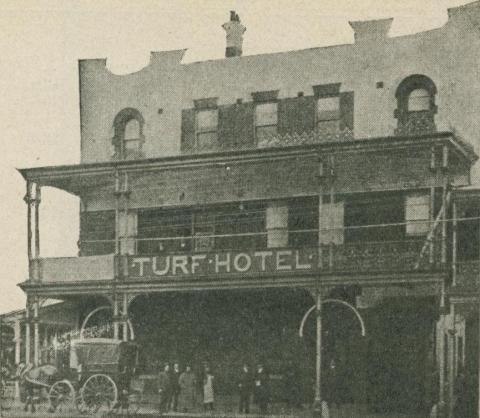 Turf Hotel, Ararat, 1918-20