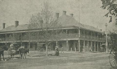 Commercial Hotel, Wangaratta, 1918-20