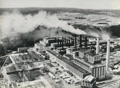 Yallourn Power Station, 1964