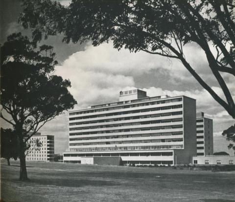 Royal Childrens Hospital, Melbourne, 1970