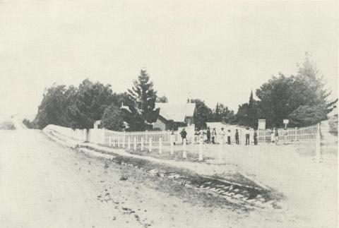 Entrance to Boroondara Cemetery prior to 1895
