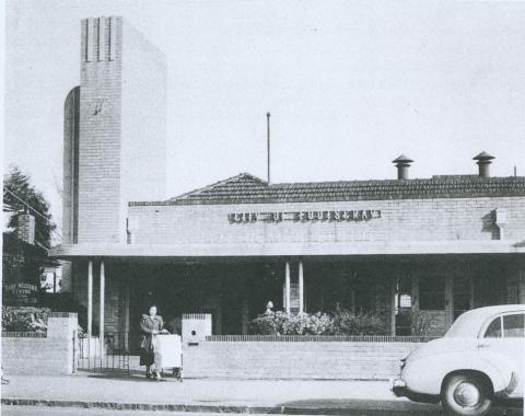 Footscray Infant Welfare Centre, 1953