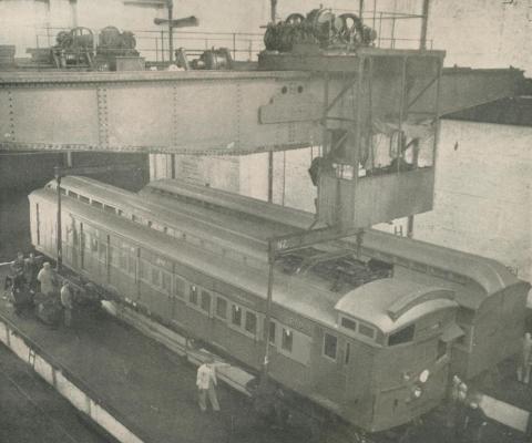 Jolimont Workshops, 1950