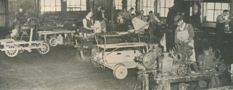 Internal Combustion Engine Section, Spotswood, 1950