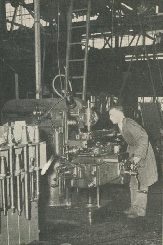 Milling Machine, Spotswood, 1950