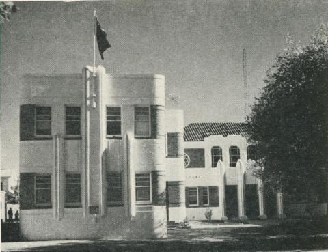 Court House, Faithful Street, Wangaratta, 1960