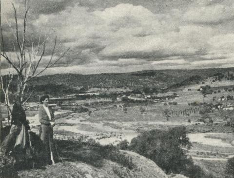 Overlooking Eldorado, historical tin and gold mining area, 1960