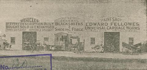 Edward Fellowes Carriage Works, Northcote, 1911