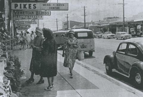 View of Keilor Road, Niddrie, 1963