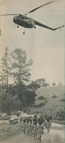 Sun Tour Professional Cycling Event, Brenock Park, 1958