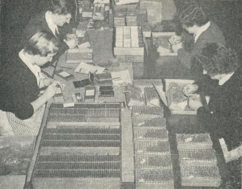 Packing Hypodermic Needles at a Portland Factory, 1960