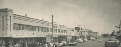 View of Percy Street, Portland, 1960
