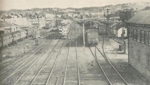 Railway Yards, Ararat, 1960