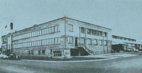Phillip Morris Cigarette Factory, Moorabin, 1957