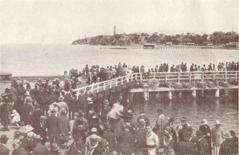 Queenscliffe Pier, 1929